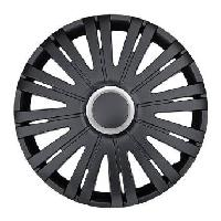 Enjoliveurs 4 Enjoliveurs 13p Texas RC Noir -Black-