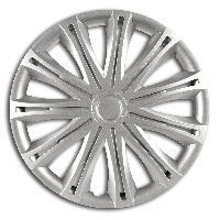 Enjoliveurs 4 Enjoliveurs 16p Alabama Argent -Silver-