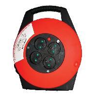 Enrouleur CHACON Enrouleur ménager 10m 4 prises 16 A 3x1.5mm² avec poignée