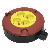 Enrouleur COGEX Derouleur electrique 5m 16A 4 prises 3x1mm