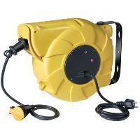 Enrouleur Enrouleur automatique 20m + 1.5m H07RN-F 3G1.5 IP44