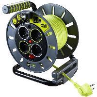 Enrouleur Enrouleur de bricolage 20 m H05VV-F 3G1.5 avec disjoncteur thermique