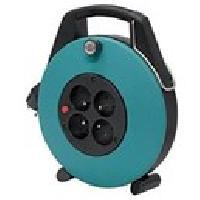 Enrouleur Enrouleur domestique Confort-line cl-x vert 10m H05VV-F 3G1.0