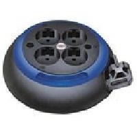 Enrouleur Enrouleur domestique Design-box cl-s noirbleu 3m H05VV-F 3G1.0