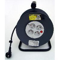 Enrouleur Enrouleur électrique HO5VVF 4 prises 25m Generique