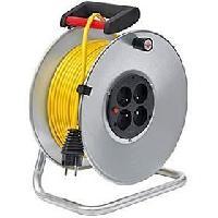 Enrouleur Enrouleur silver Brico-500 50m H05VV-F 3G1.5