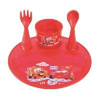 Ensemble - Set Repas CARS Set de vaisselle fun puzzle - Disney - Tigex