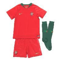 Ensemble De Vetements De Football NIKE Mini Ensemble de football Maillot + Short + Chaussettes FPF 18 - Enfant garcon - Rouge - L