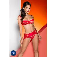 Ensemble Rayen Set rouge - S-M