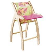 Ensemble Table Et Chaise Bebe Chaise Haute Moderne 31x36x64 cm Fille