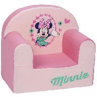 Ensemble Table Et Chaise Bebe DISNEY BABY  Minnie Fauteuil droit déhoussable - 25 cm