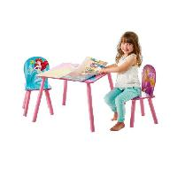 Ensemble Table Et Chaise Bebe DISNEY PRINCESSES Ensemble Table Et 2 Chaises - Worlds Apart