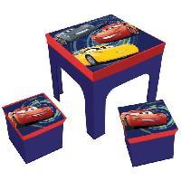Ensemble Table Et Chaise Bebe JEMINI Table et 2 Chaises Garçon