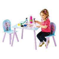 Ensemble Table Et Chaise Bebe LA REINE DES NEIGES Ensemble Table Et 2 Chaises