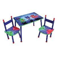 Ensemble Table Et Chaise Bebe LES PYJAMASQUES Table+2 chaises pour enfant - Fun House