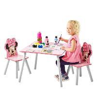 Ensemble Table Et Chaise Bebe MINNIE Ensemble Table Et 2 Chaises