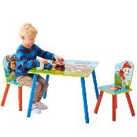 Ensemble Table Et Chaise Bebe PAT'PATROUILLE Ensemble Table Et 2 Chaises Pour Enfants