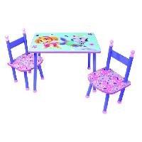 Ensemble Table Et Chaise Bebe PAT'PATROUILLE Table + 2 Chaises
