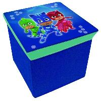 Ensemble Table Et Chaise Bebe PJ MASKS Tabouret De Rangement