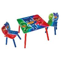 Ensemble Table Et Chaise Bebe PYJAMASQUES Ensemble Table Et 2 Chaises Pour Enfants