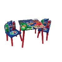 Ensemble Table Et Chaise Bebe PYJAMASQUES Table et 2 chaises enfant en bois MDF