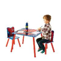 Ensemble Table Et Chaise Bebe SPIDERMAN Ensemble Table Et 2 Chaises