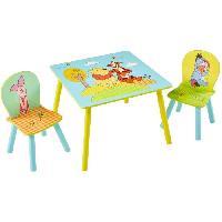 Ensemble Table Et Chaise Bebe WINNIE L'OURSON Ensemble table et 2 chaises - Aucune