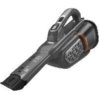 Entretien Des Sols - Maison BLACK+DECKER BHHV520JF-QW - Aspirateur a main - Dustbuster Lithium 18V - 2 vitesses - Autonomie 40min - Noir argent Titanium