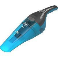 Entretien Des Sols - Maison BLACK+DECKER WDC215WA-QW- Aspirateur a main - Dustbuster Lithium Eau et poussiere 7.2V - Indicateur LED - Bleu