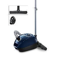 Entretien Des Sols - Maison BOSCH BGLS4ALL Aspirateur traîneau avec sac Cosyy'y - 700W - 69 dB - 4AAAA - Bleu