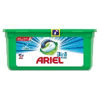 Entretien Du Linge 25 doses de lessive Pods Alpine 3 en 1 Ariel