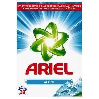 Entretien Du Linge ARIEL Lessive Poudre Alpine - 2.535Kg - x39