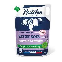 Entretien Du Linge BRIOCHIN Recharge lessive authentique savon noir - 2 L - 40 lavages - Nettoie et detache