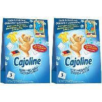 Entretien Du Linge CAJOLINE Adoucissant pour Armoire - Senteur délicate jusqu'a 6 semaines - Fraîcheur printanniere - 3 x 30 g