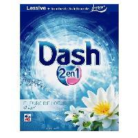 Entretien Du Linge DASH Lessive poudre - Fleur de Lys