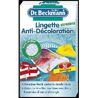 Entretien Du Linge DR BECKMANN Lingettes anti-décoloration réutilisable - Drbeckmann