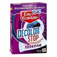 Entretien Du Linge Decolor Stop Intense - 20 Lingettes