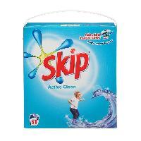 Entretien Du Linge SKIP Lessive en poudre Active clean - 61 doses