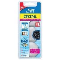 Entretien Et Traitement API Dose filtration Crystal T3 (x3) - Pour aquarium