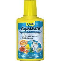 Entretien Et Traitement TETRA Conditionneur d'eau AquaSafe - Pour poissons tropicaux - 100ml