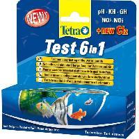Entretien Et Traitement TETRA Test 6 in 1 - Bandelettes de tests