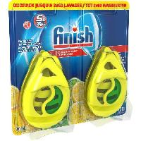 Entretien Lave-vaisselle - Desodorisant Lave-vaisselle W4B Pack de 2 desodorisants pour lave-vaisselle - Parfum citron et citron vert - 2 x 60 lavages