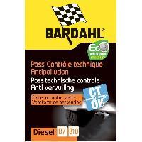Entretien Moteur BARDAHL Pass' Controle technique moteur Diesel 2020