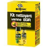 Entretien Moteur Kit nettoyant vanne EGR diesel - BA9123 - Elimine les depots. Stabilise le ralenti. Baisse la consommation. - Bardahl