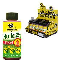 Entretien moteur et traitement essence 1 dose huile 2 temps synthese - 100ml - Bardahl