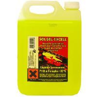 Entretien moteur et traitement essence Liquide refroidissement universel -35 degres - 5L - Solgel - ADNAuto
