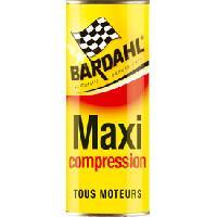 Entretien moteur et traitement essence Maxi compression BARDAHL 473ml