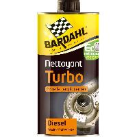 Entretien moteur et traitement essence Nettoyant turbo - 1L - BA4777 - Elimine suie et calamine. Reduit le grippage. Curatif et preventif. Bardahl