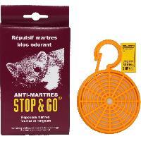 Entretien moteur et traitement essence Repulsif anti martres bloc odorant concentre STOP GO - ADNAuto
