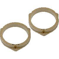 Entretoise Bois MDF Haut-parleur 2 Adaptateurs HP compatible avec Nissan Navara 99-05 165mm Bois MDF impregnes vernis - ADN-ENB ADNAuto